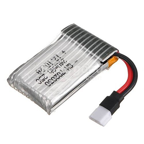 SICA 3.7V 240mAh Battery For Hubsan X4 H107L H107C UDI U816A RC - Shades Code Discount Car