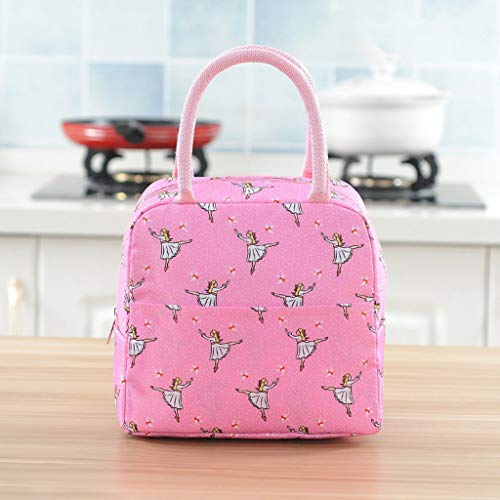 - OrchidAmor Fashion New Portable Waterproof Thickness Picnic School Lunch Bag Office 2019