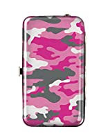 Spoontiques Wallet Case for iPhone 4; iPhone 5; iPhone 5S, iPhone 6; Samsung Galaxy S5 - Pink Camo Phone Wristlet