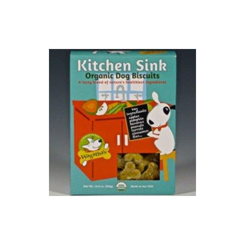 Wagatha'S Kitchen Sink Organic Biscuits - 12.5 Oz