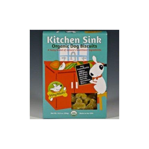Wagatha's Kitchen Sink Organic Biscuits - 12.5 oz