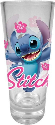 Disney Hi Stitch Collector Glass