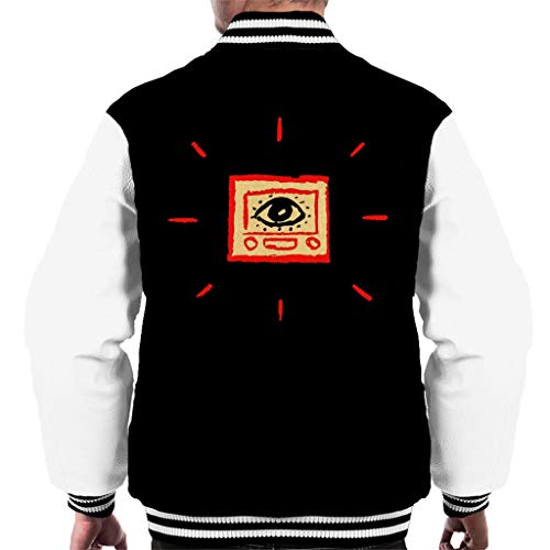 Black Infinate Book Men's Read Varsity Covers Jacket white Jest Must 16wUF8A8q