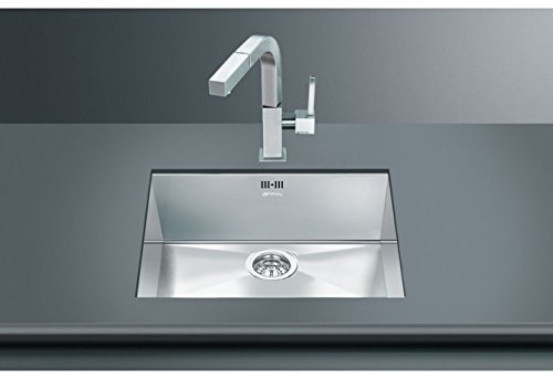 Smeg Quadra VSTQ50-2 Undermounted Sink Stainless Steel by Smeg by Smeg
