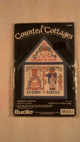 Counted Cottages, Wedding Sampler (Wedding Cross Sampler Stitch Patterns)