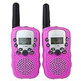 2PCS/Pack T-338 Mini Outdoor Kids Interphones Portable Adventure Radio Transceiver Hand-held Child Walkie-Talkies