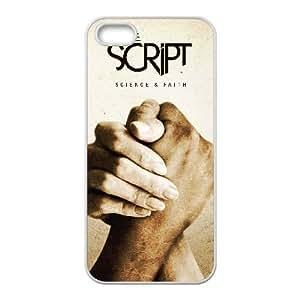 The ScriPt 006 funda iPhone 4 4S Cubierta blanca del teléfono celular de la cubierta del caso funda EVAXLKNBC13512