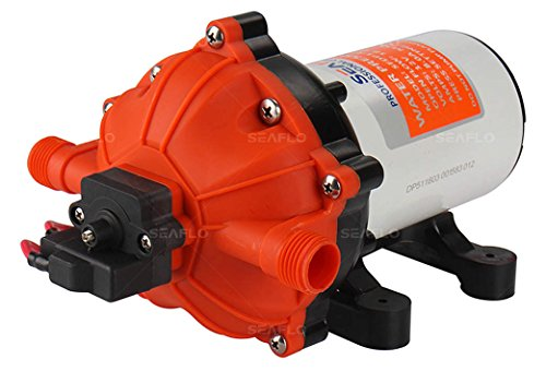 12V 5.5GPM MARINE WATER PUMP DIAPHRAGM 60PSI WATER SYSTEM by Sea Fresh Marine