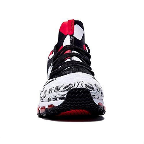 Zapatillas Correr De Mujer Hombre Running Blanco Rojo Unisex Negro Zapatos Onemix Deportivas Para Calzado Transpirable Air Adult xTqH0nIwY