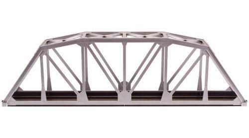 preferente Code 100 Nickel plata 18 plata Through Truss Bridge Kit Kit Kit HO Scale Atlas Trains by Atlas Model Railroad  ventas al por mayor