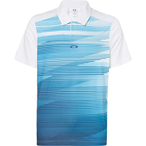 Oakley Men's Ace Golf Shirts,Large,White