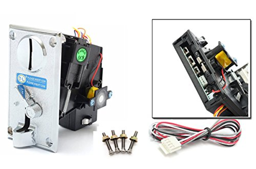 Alloy Front panel CPU Multi Coin Acceptor Comparable Coin Selector hot sale
