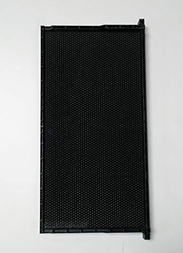 Acorn Bee Frame Black Plastic Wax Coated deep Size 9