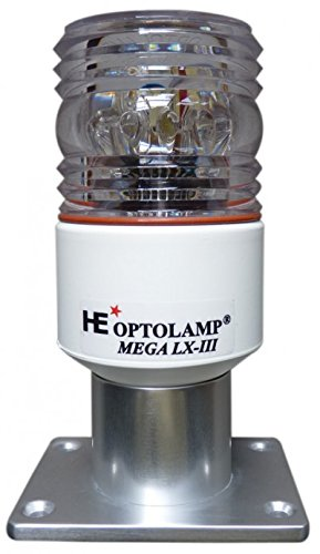 OP015 - MEGA DIGITAL LX-III - STROBE BI DIMENSINAL-4 in 1 -MOTOR BOATS-optolamp by Nautos