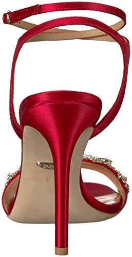 Sandal Women's Hailey Mischka Red Heeled Badgley wHI5qp