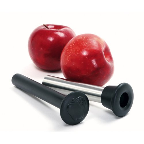 Norpro 5103 Stainless Steel Apple Corer with Plunger