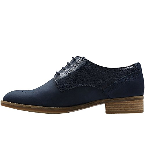Clarks Netley Rose Womens Brogues 4.5 D (m) Uk / 7 B (m) Ons Marine