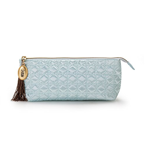 SABON Cosmetic Bag, Blue Quilted