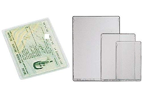 Esselte Leitz Identity Card, Credit Card Holder, transparent PVC, grained