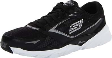Skechers Performance Women's Go Run Ride 3 Running Shoe,Black/White,6 M US