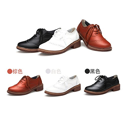 Women Oxford Shoes, Mosunx(TM) Retro Shoes With Thick