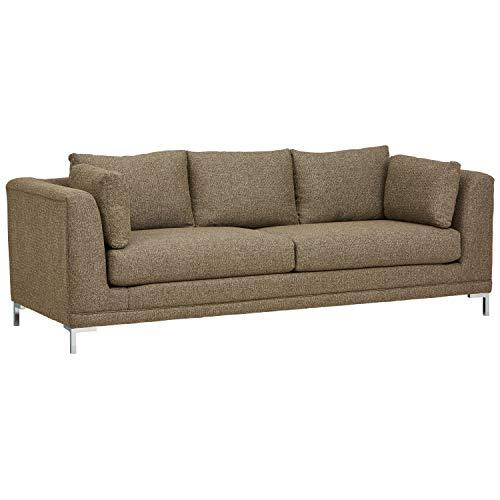 Stone Beam Westcott Contemporary 93 Sofa, Fabric, 93 W, Flannel