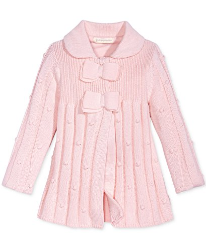 First Impressions Sweater - First Impressions Bow-Detail Sweater Coat, Baby Girls