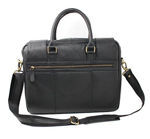 StarHide Reisetasche Aktentasche Umhängetasche Schultertasche Kuriertasche Echtes Ledertasche - 530