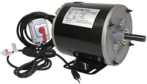 Elite 3/4 HP Painted 56 Frame Boat Lift Motor - Maintained Switch/110v/16 ft. Control Cable]()
