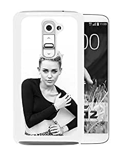 Pop Singer Miley Cyrus (2) Durable High Quality LG G2 Phone Case