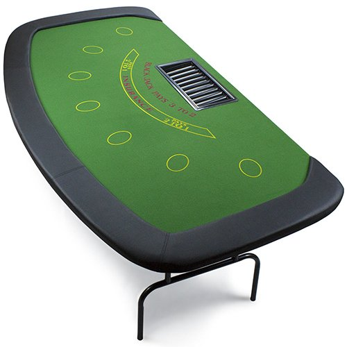 Brybelly 7-Player Blackjack Poker Table by Brybelly