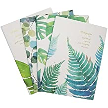 What's Fun B5 Theme designed Softcover College Ruled Notebook/Composition/Journals/Dairy/Office Note Books Set of 4 Per Pack (All Things Grow)