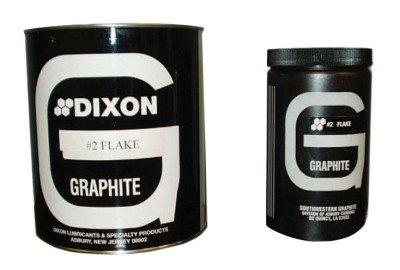 Lubricating Flake Graphite - 1lb can no.2 medium flake graphite by Dixon Graphite
