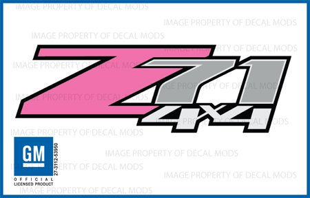 Amazoncom  Chevy Silverado Z X PINK Decals Stickers FP - Chevy silverado sticker