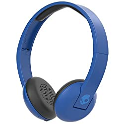 Skullcandy Uproar Bluetooth Wireless On-ear Headphones With Built-in Microphone & Remote, 10-hour Rechargeable Battery, Soft Synthetic Leather Ear Pillows For Comfort, Royal Blue