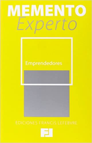 Book Memento Experto Emprendedores