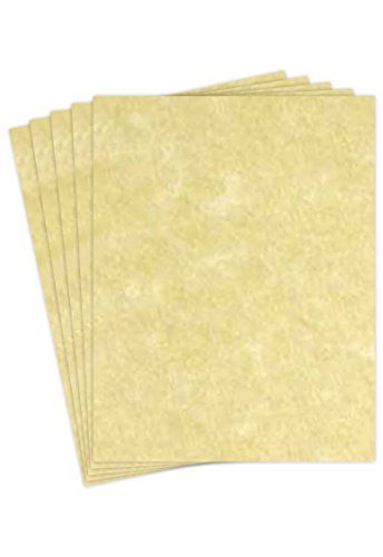 Gold Stock (Astroparche Card Stock - Ancient Gold Parchment 65lb Cover Stock - Size 8.5 X 11 - 50 Per Pack.)