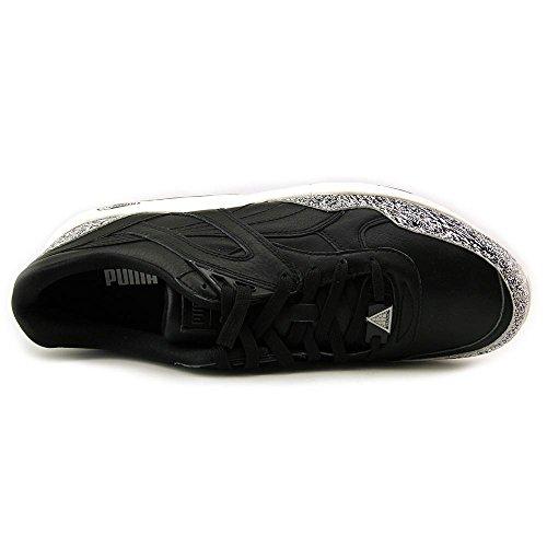 Puma Herren R698 Schnee Splatter-Pack-Turnschuhe schwarz / weiß
