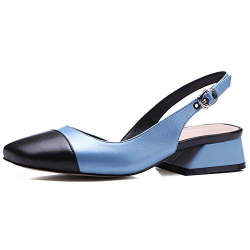 Nine SevenPump Shoes - Sandalias con cuña mujer Azul