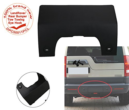 E-Most Rear Bumper Tow Towing Eye Hook Hitch Cover For Land Rover LR3 2005-2009 DPC50011PCL