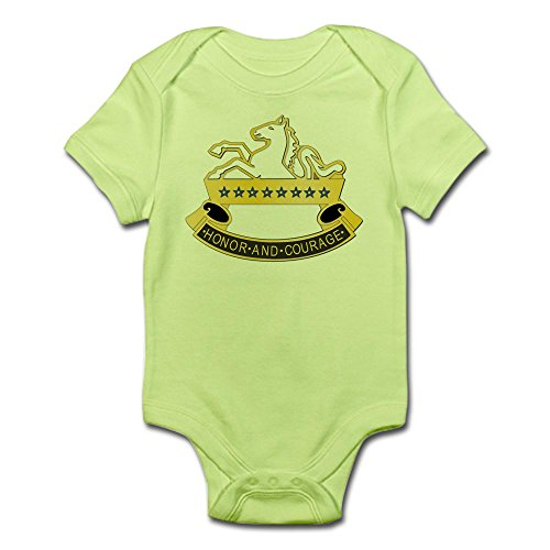 CafePress DUI - 8Th Cavalry Regiment,6Th Squadron Infant BOD - Cute Infant Bodysuit Baby - Patch Dui Military