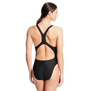 Speedo Women's Pro LT Super Pro Swimsuit, Black, 28
