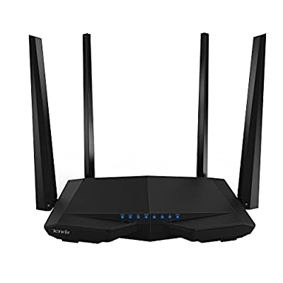 Tenda N300 Wireless Wi-Fi Router with High Power 5dBi Antennas (F3)