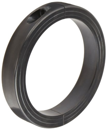 Ruland MSPH-130-F Two-Piece Clamping Shaft Collar, Heavy Duty, Black Oxide Steel, 130mm Bore, 170mm OD, 32mm Width by Ruland