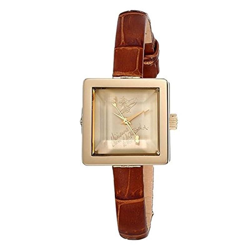 비비안 웨스트 우드 여성 시계 골드 쿼츠 VV094GDBR