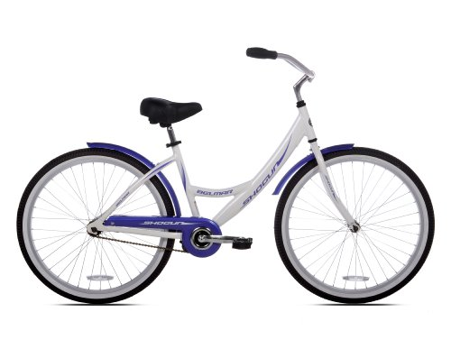 Cheap Shogun Belmar Women's Aluminum Beach Cruiser Bike (26-Inch Wheels)