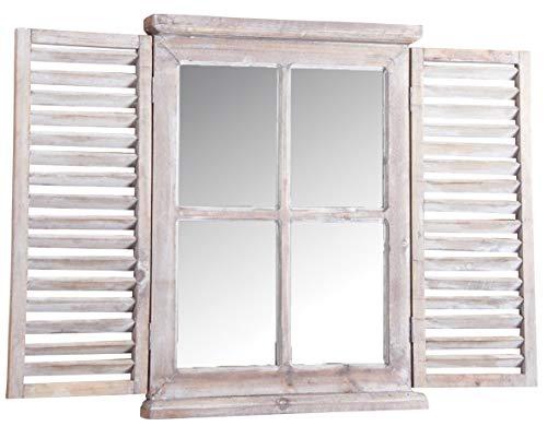 Espejo Ventana de Madera Tint