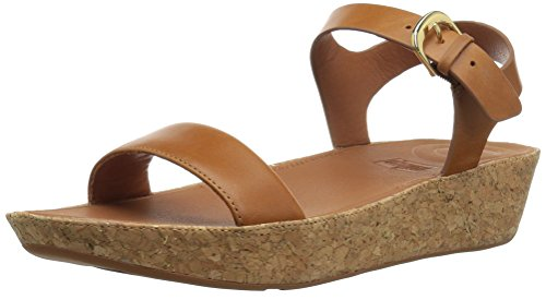 FitFlop Women's Bon II Back-Strap Sandals Medical Professional Shoe, Caramel, 10 M US by FitFlop