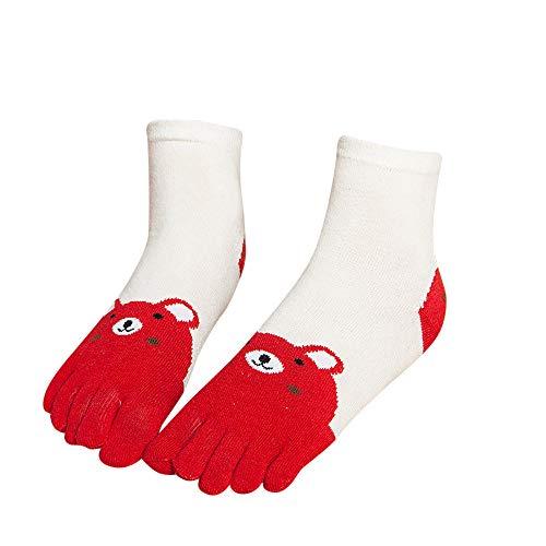 Patchwork Toe Sock,G-real Toddler Baby Kids Girls New Cute Baby Girls Animal Five Finger Toe Socks