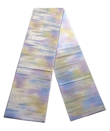 水星予備フェンスリサイクル 袋帯 かすみのような文様 正絹
